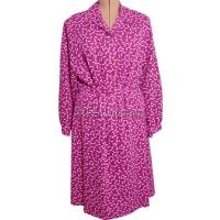 Raspberry Long Sleeve Dress