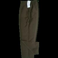 Brown Herringbone Trousers