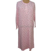 Pink Marlon Brushed Poly-Cotton Nightie