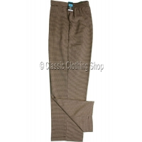 Sand Dogtooth Trousers