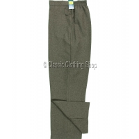 Taupe Self Pattern Trousers