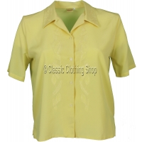 Lemon Nicole Lewis Short Sleeve Blouse