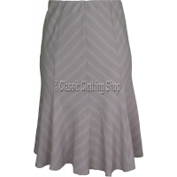Pebble Panelled A-Line Skirt