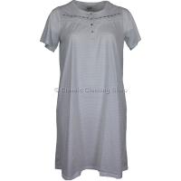 Grey La Marquise Diamond Dots Short Sleeve Nightie