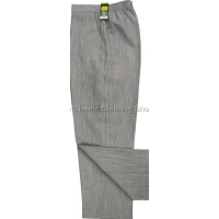 Light Grey Linen Look Trousers
