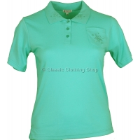 Mint Polo T-Shirt Top