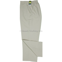 Stone Plain Trousers