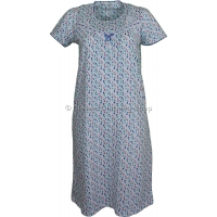 Marlon Blue Abstract Spot Nightdress