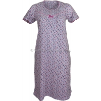 Marlon Pink Abstract Spot Nightdress