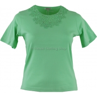 Pistachio Plain T-Shirt Top