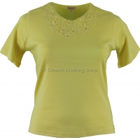 Lemon Plain T-Shirt Top