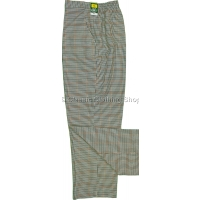 Stone Dogtooth Trousers