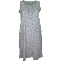 Lilac Everyday Floral Sleeveless Nightdress