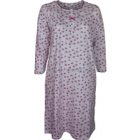 Grape Floral Long Sleeve Nightdress