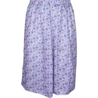 Lavender Printed Panelled Skirt