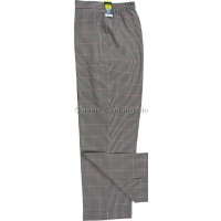 Coral Small-Dogtooth Trousers