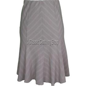 Pebble Panelled A-Line Skirt