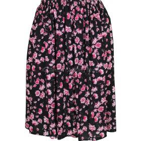 Pink Floral Printed Skirt