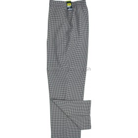 Brown Dogtooth Trousers