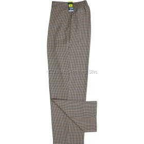 Toffee Dogtooth Trousers
