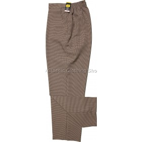 Stone Small-Dogtooth Trousers