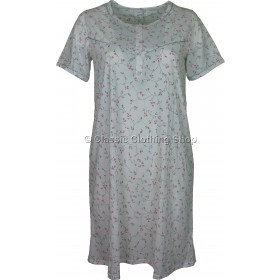 Pink Everyday Floral Short Sleeve Nightdress