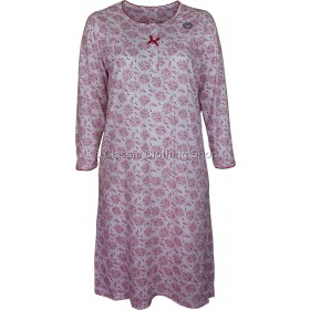 Berry Floral Long Sleeve Nightdress
